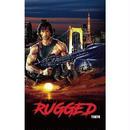 """RUGGED  """"First Blood to TOKYO"""" sticker"""