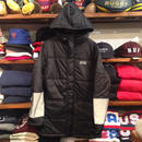 "【ラス1】PHANTOM nyc ""SOFT TOUCH 3M""long down jacket (Black)"