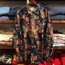 "DENIM&SUPPLY ""FLORAL"" couduroy cowboy shirt(Navy)"