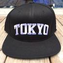 "RUGGED ""TOKYO NAVY"" Snapback (Black)"