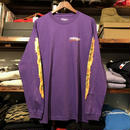 "RUGGED ""BLUNT FIRE"" L/S tee(Purple)"