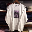 RUGGED ''SELASSIE'' L/S tee  (White)