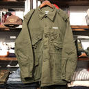 "RUGGED on vintage ""Stencil Arch"" military jacket (L) ①"