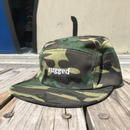 "【残り僅か】RUGGED ""rugged "" 5Panel cap (Camo)"