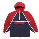 【残り僅か】FILA anorak pull-over nylon jacket (Red)