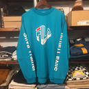 【ラス1】FILA Silva Trainer LOGO L/S tee (Light Green)