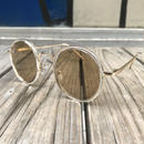 "【残り僅か】RUGGED ""Boston Clear"" sunglasses (Brown)"