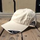【ラス1】adidas  COTTON COMFORT RELAXED FIT UV PROTECTION adjuster cap (Cream)