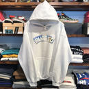 "【ラス1】RUGGED ""SNOW ARCH"" sweat hoodie (White)"