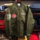 """【ラス1】RUGGED """"欲"""" MA-1 jacket(Olive)"""
