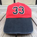 "【残り僅か】OUTDOOR ""33"" adjuster cap (Red)"