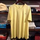 【残り僅か】POLO RALPH LAUREN small pony tee (Light Yellow)