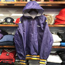 """RUGGED on vintage """"ARCH LOGO"""" nylon jacket (MADE in USA)"""