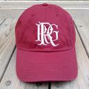"""【ラス1】RUGGED """"R/RG logo"""" adjuster cap(Burgundy)"""