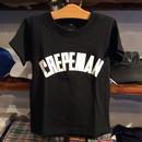 【ラス1】CREPEMAN Logo kids  tee(Black/100cm)