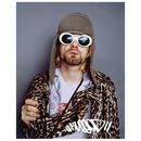 "RUGGED ""Cobain"" big sticker"