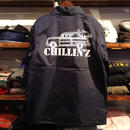 "RUGGED ""CHILLIN'Z"" coach jacket (Navy)"