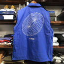 "【残り僅か】RUGGED ""TORUS"" coach jacket(Blue/Reflector)"