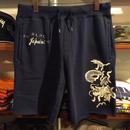 【残り僅か】POLO RALPH LAUREN Dragon embroidery cut off sweat shorts