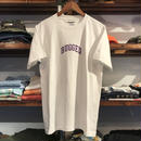 "RUGGED ""SMALL ARCH"" tee (White/Purple)"