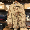 "RUGGED on Vintage ""POLO SMOKE"" desert camo shirt (S)①"