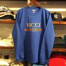 "RUGGED ""BICCI'' L/S tee (Blue)"