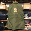 "RUGGED on Vintage ""POLO SMOKE"" Field jacket (XL)②"