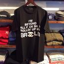 """【残り僅か】DOUBLE  HARD """"BROCCOLI"""" tee (Black)"""