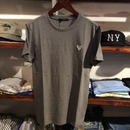 GUESS one point  tee(Gray)