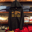"【ラス1】DENIM&SUPPLY ""BROOKLYN.NY."" full-zip hoodie(Black)"