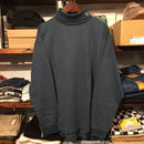 【残り僅か】FILA LOGO TURTLE NECK L/S tee (Dark Green)