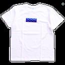 """【残り僅か】AnotA """"GOX"""" tee (White×Blue)"""