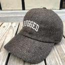 RUGGED ''ARCH LOGO'' adjuster cap (Herringbone Brown)