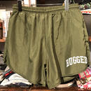 "RUGGED on vintage ""SMALL ARCH""nylon shorts (Olive③)"