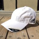 【ラス1】adidas  COTTON COMFORT RELAXED FIT UV PROTECTION adjuster cap (White)