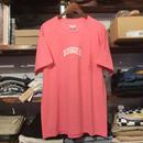 """【ラス1】RUGGED on vintage """"SMALL ARCH"""" tee (Pink)"""