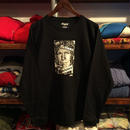 RUGGED ''fictions'' L/S tee  (Black)