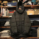 【残り僅か】FILA Down hooded jacket (Black)