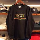 """【残り僅か】RUGGED """"BICCI'' L/S tee (Black)"""