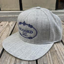 """【残り僅か】RUGGED """"RUGGED TOKYO"""" snapback(Gray)"""