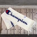 【残り僅か】Champion BIG LOGO SCARF (White)