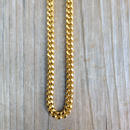 【ラス1】Two sided kihei gold plated necklace