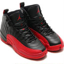 "【ラス1】NIKE ""AIR JORDAN 12 RETRO BG"" (Black/Varsity Red)"