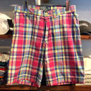 POLO RALPH LAUREN check swim shorts