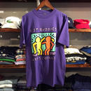 keith haring  BEST BUDDIES VRAIS COPAINS tee(M)