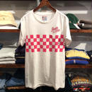 Peoples Place by HILFIGER DENIM checkerboard pocket tee(M)