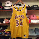 "Champion NBA LosAngeles LALERS ""JOHNSON 32"" basketball Jersey"