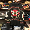 CHAPS nordic hineck button sweater (M)