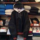 Holloway half zip nylon jacket(XL)