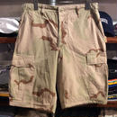 military sand camo cargo shorts(S)